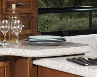 SOLID-SURFACE COUNTERS