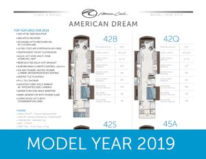 2019 American Dream Sales Sheet           brochure thumb